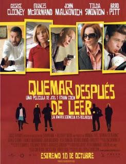 Quemar después de leer (2008). Quemar después de leer (2008). Quemar después de leer (2008).