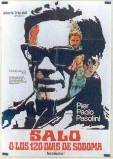 Saló o los 120 días de Sodoma (1975).
