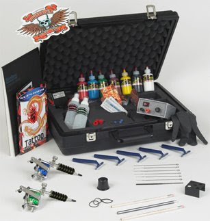 Travel Tattoo Kit
