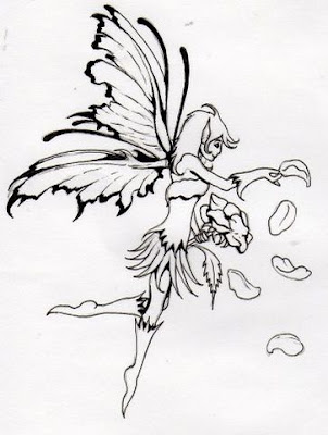 Butterfly Fairy Tattoo Designs - A Beautiful Tattoo Design