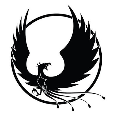 Tattoo design phoonix bird