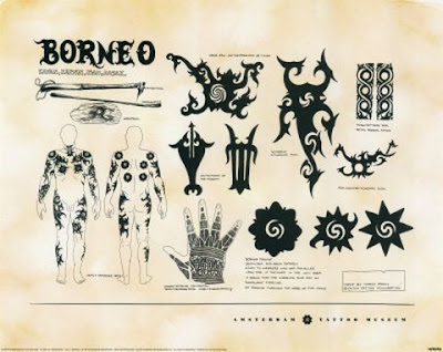 Borneo tattoo