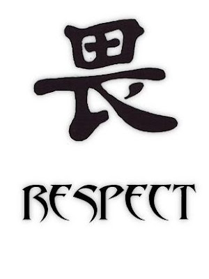 Kanji Respect Tattoo Symbols