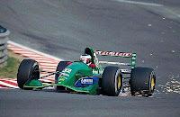 Schumacher Jordan spa Belgique 1991