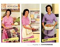 Publicité pour le Tupperware
