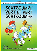 Schtroumpf vert et vert Schtroumpf