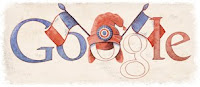 Google Doodle 14 juillet Bastille