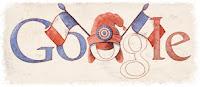 Google Doodle 14 juillet Bastille