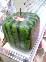 pastèque cubique