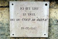 Lieu duel Coup de Jarnac