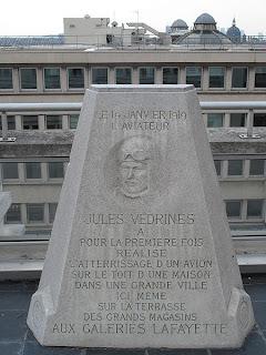 Plaque Jules Védrines