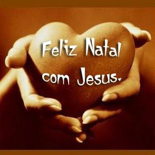 Feliz natal com jesus