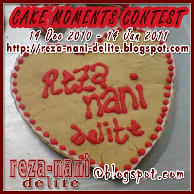 Cake Moments Contest by Reza-Nani-Delite