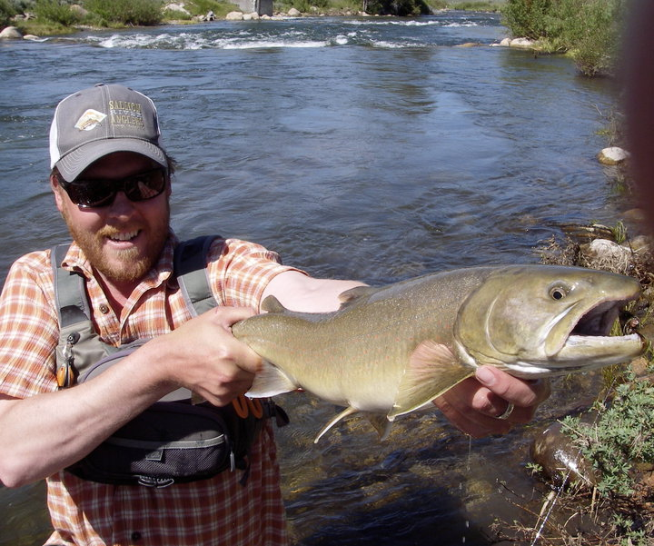 Stanley idaho recreation report fly fishing in stanley for Salmon fishing in idaho