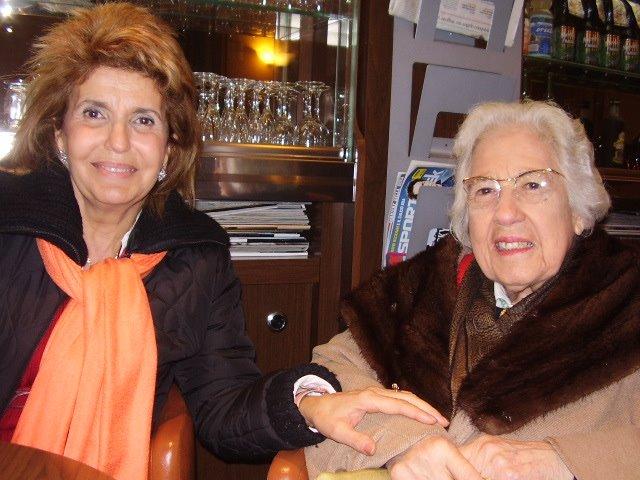 Prof.ssa SALESI e la Direttrice Ketti Concetta BOSCO