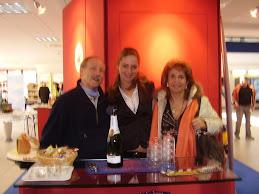 IL SANREMESE e i suoi DIRIGENTI... Monica con Merzario Presidente e Direttore de il MILANESE e K.B.