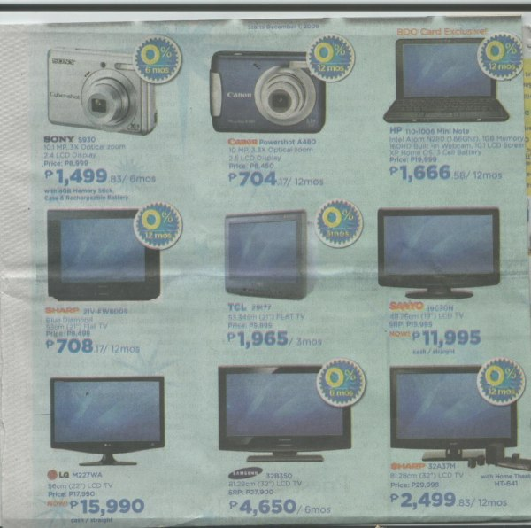 Lcd Led Tvs Philippines With Price Comparisons Abenson Sale On