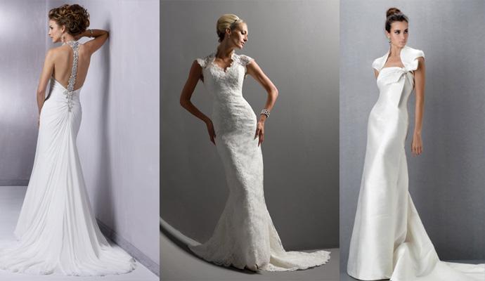 Simple Wedding Dresses 2010