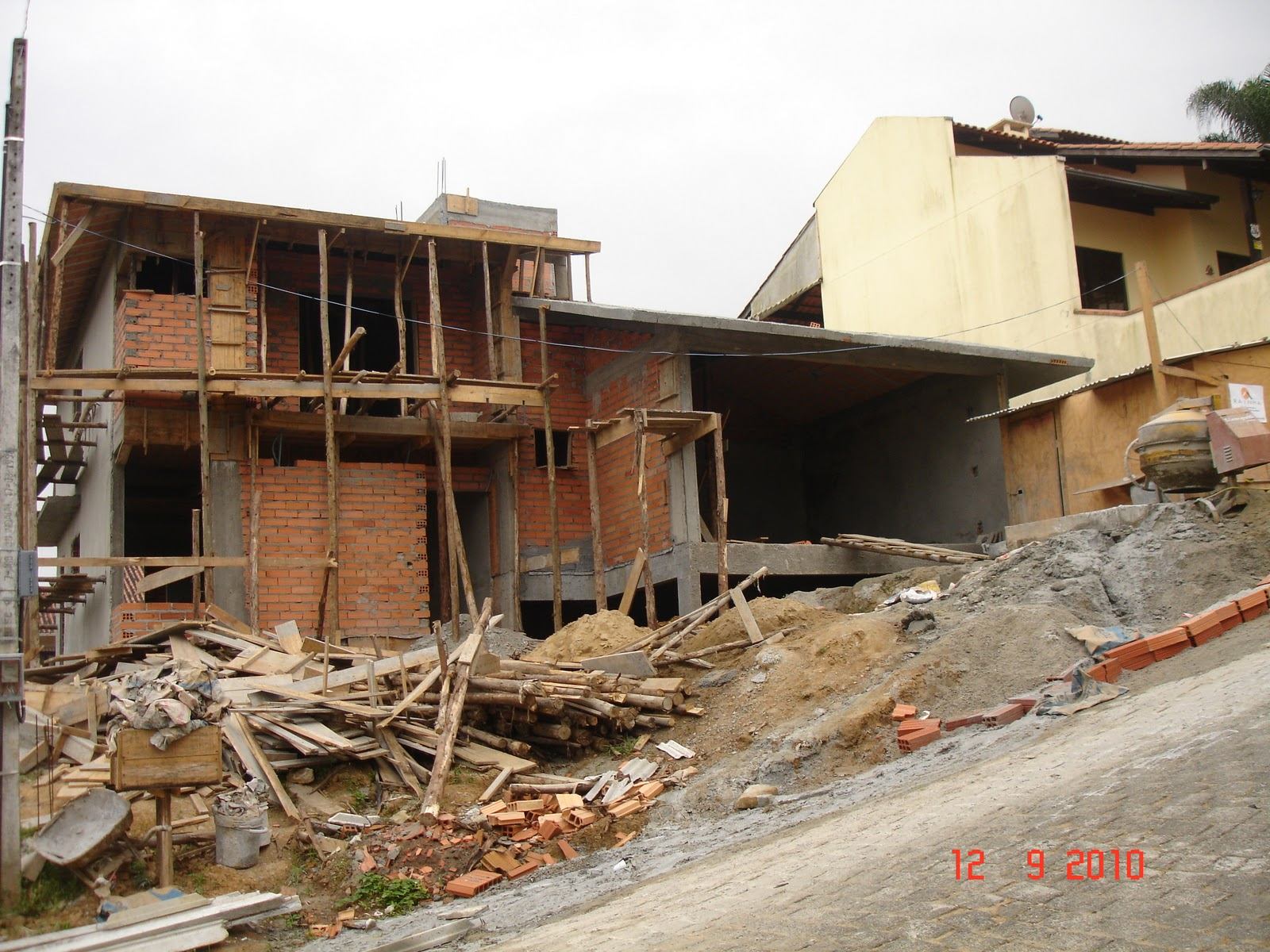 Nossa Casa no Site Construção da fundação ao acabamento: Fotos  #B22B19 1600 1200