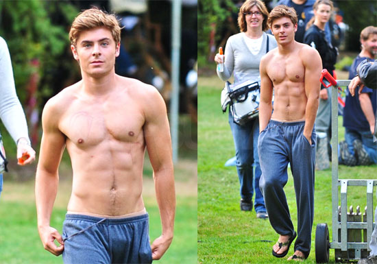 zac efron with bulge