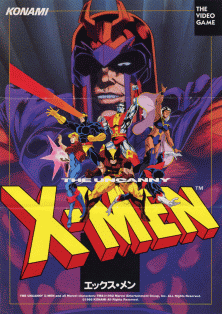 X Men Arcade