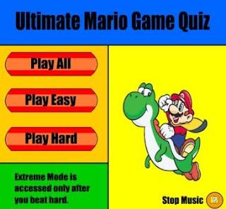 Ultimate Mario Quiz