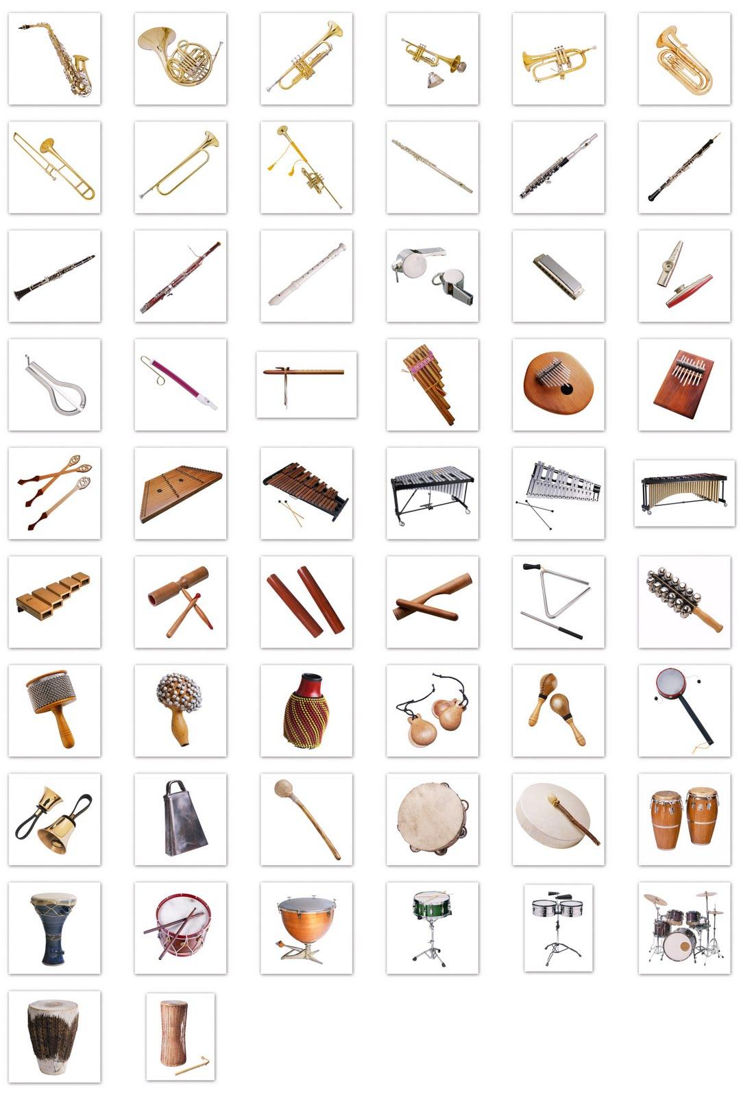 Blog de Artes Musicales Clasificacin de los Instrumentos