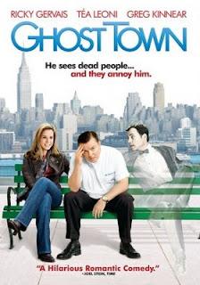 Filme Poster Ghost Town - Um Espírito Atrás de Mim DVDRip RMVB Dublado