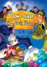 Filme Poster Tom e Jerry Encontra Sherlock Holmes DVDRip RMVB Dublado