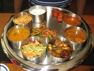 Lunch Thali at the Mystic Masala Pune