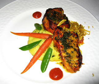 Tandoori Sea Bass at Mantra Palo Alto