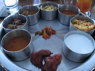 Thali, Mystic Masala, Blue Diamond, Pune