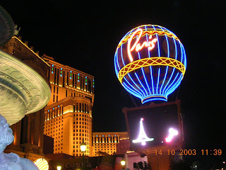 Las Vegas, Paris Hotel
