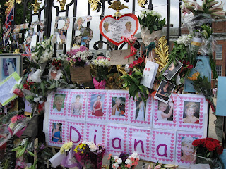 Diana's 10th death anniversary at Kensington Palace