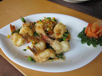 Prawns in Butter Pepper at Soy Pune