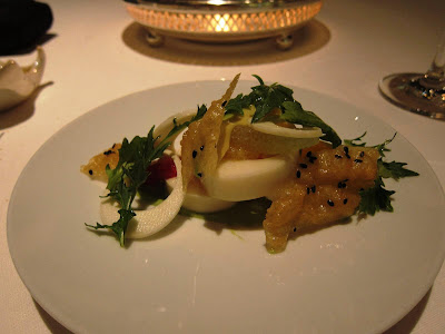 Hearts of Palm: Amuse bouche at Michael Mina