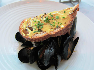 Mussels at Luce San Francisco