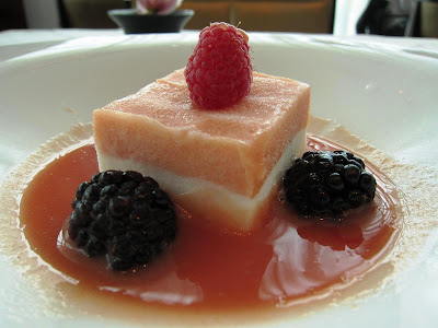 Guava Parfait at Luce San Francisco