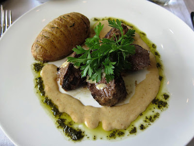 Loin of Gemsbok at the Intercontinental Sandton Towers