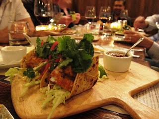 Fish tacos at Willi's Seafood and Raw Bar Healdsburg
