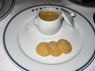 Infused Custard at Bouchon