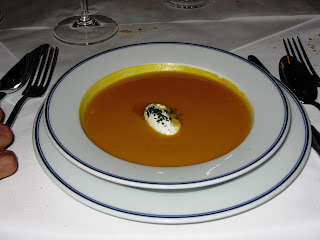 Carrot Soup at Bouchon