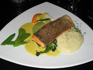 Salmon Entree at Archipelago
