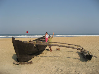The Beach at Leela Goa