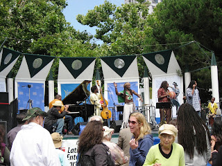 Reggae Outdoors in downtown San Francisco