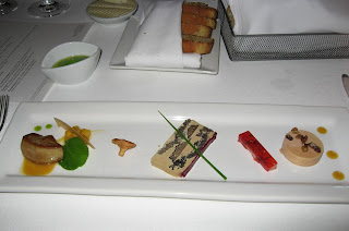 Hudson Valley Foie Gras Trio at Chez TJ