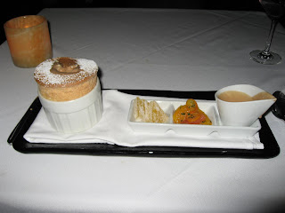 Orange Souffle at Alexander's