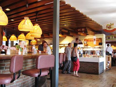 Autobahn Cafe enroute near Linz