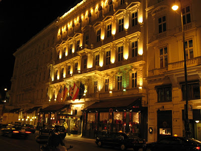 The Sacher Hotel Vienna
