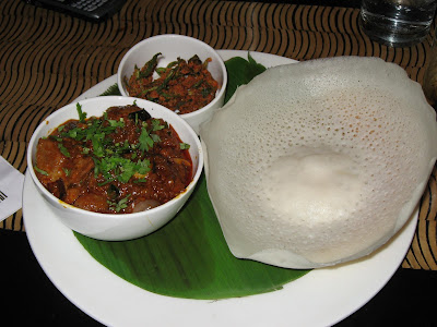 Mutton Sukha and Appam at 601